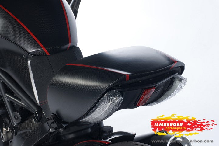 ILMBERGER Carbon Fiber Seat Cowl (Seat Cover) 2011-2012 Ducati Diavel