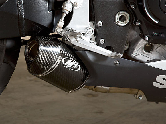 M4 Street Slayer Carbon Slip-on Exhaust System 2006-2007 Suzuki GSXR 600/750