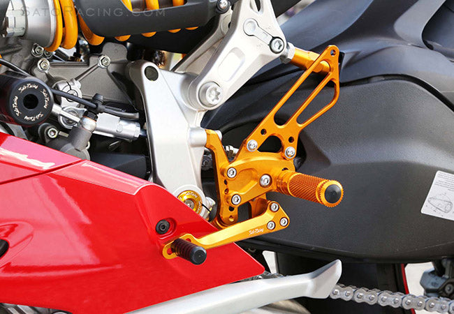 Sato Racing Adjustable Rearsets for Ducati 1199 Panigale