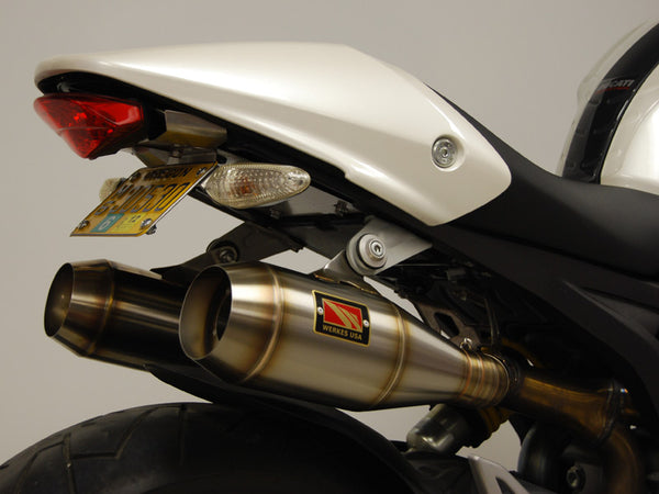 Competition Werkes GP Stainless Steel Slip-on Exhaust Ducati Monster 696/796/1100
