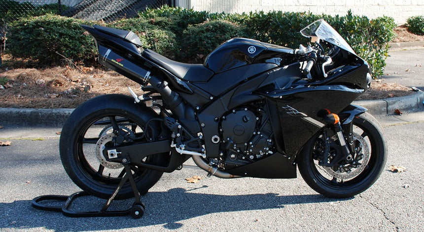 Graves Motorsports Link Ti Carbon Slip On Exhaust Systems For 2009 2014 Yamaha Yzf R1