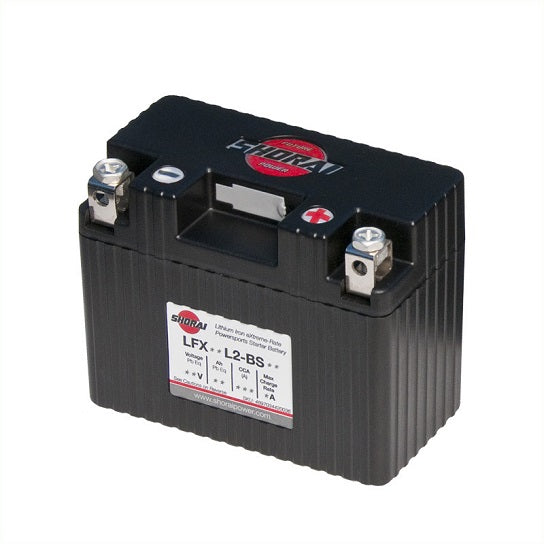 Shorai LFX09L2-BS12 Lithium Battery