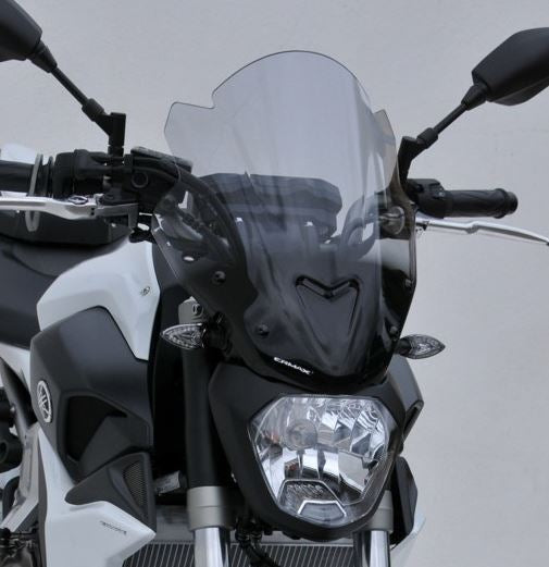 "Ermax Sport Windscreens ""Tall Version"" 2014-2017 Yamaha FZ-07 / MT-07"