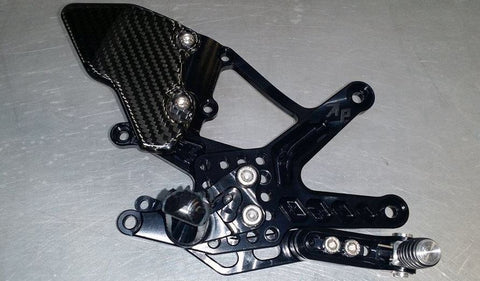 Attack Performance Adjustable Rear Set Kit For 2015 Yamaha R1/R1M
