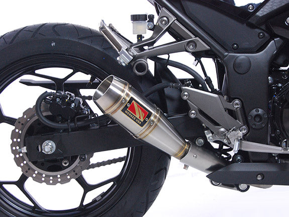 Competition Werkes GP Stainless Steel Slip-on Exhaust for 2013-2015 Kawasaki Ninja 300