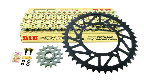 Drive Systems Superlite RS8-R 520 Conversion Alloy Race Sprocket Set for 2015 Yamaha YZF R1/R1M - DID Chain