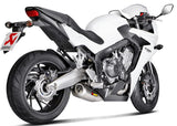 Akrapovic Racing Line (Titanium) Full Exhaust System for 2014-2015 Honda CBR650F - EC Type Approved