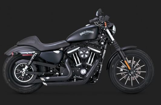 Vance Hines Shortshots Staggered Full Exhaust System For 20142017 Harley Davidson Sportster: Exhaust For 2017 Harley Davidson At Woreks.co