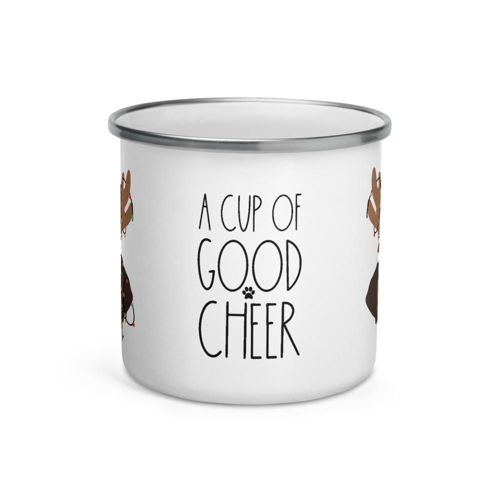 A Cup of Good Cheer Camp Mug - Lucy + Norman