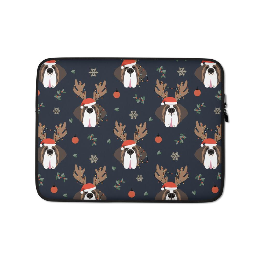 Christmas Saints Laptop Sleeve - Lucy + Norman