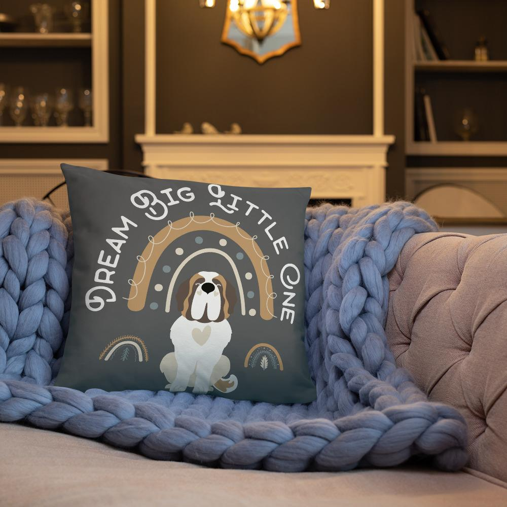 Dream Big Little One Pillow - Lucy + Norman