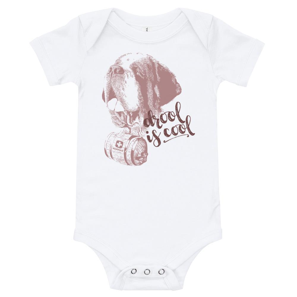 Drool is Cool St Bernard Norman Baby Bodysuit - Lucy + Norman