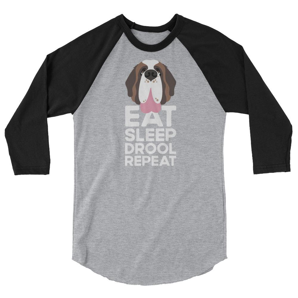 Eat Sleep Drool Repeat Raglan - Lucy + Norman
