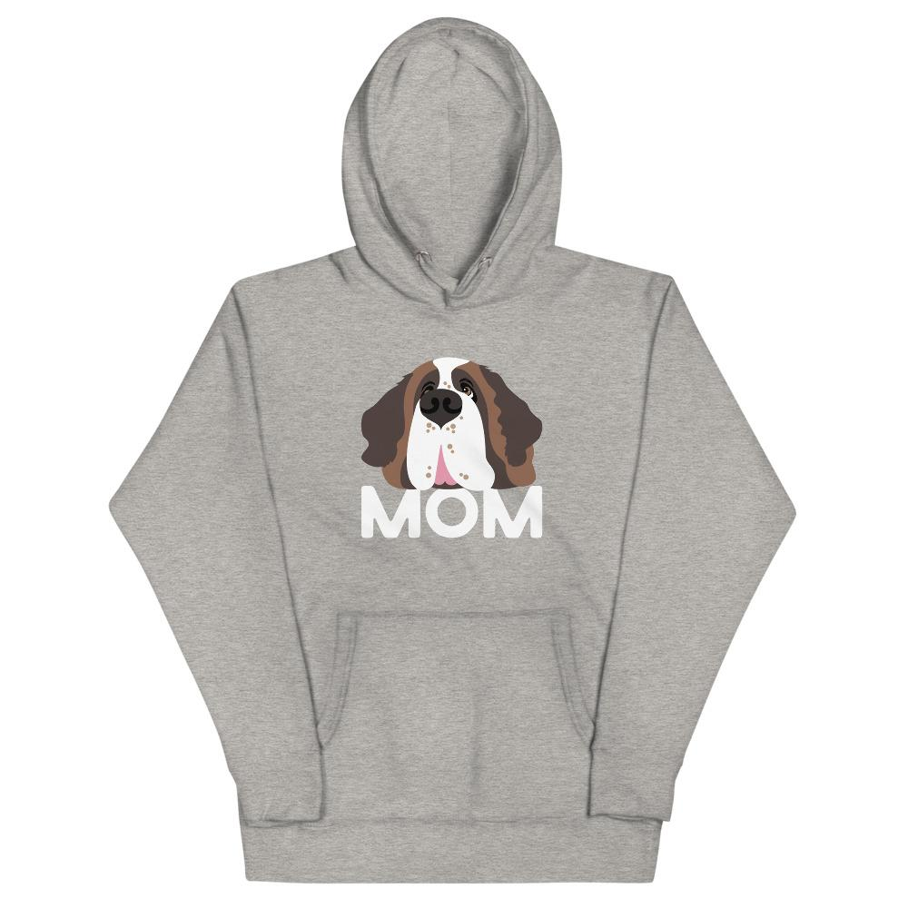 Saint Bernard Dog Mom Hoodie - Lucy + Norman