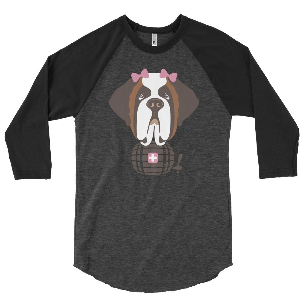 Sweet Lucy 3/4 Sleeve Raglan Shirt - Lucy + Norman