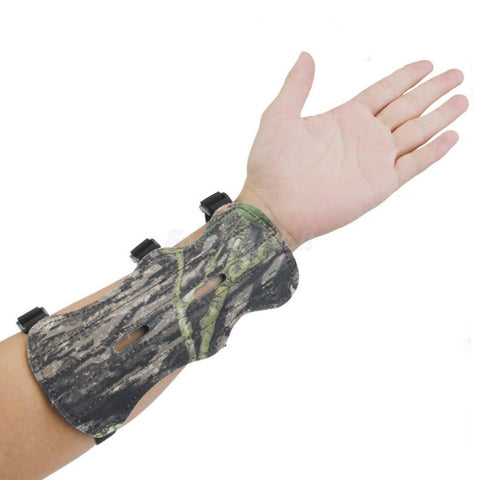 Camo Archery Bow Arm Guard Protective Forearm Clothing