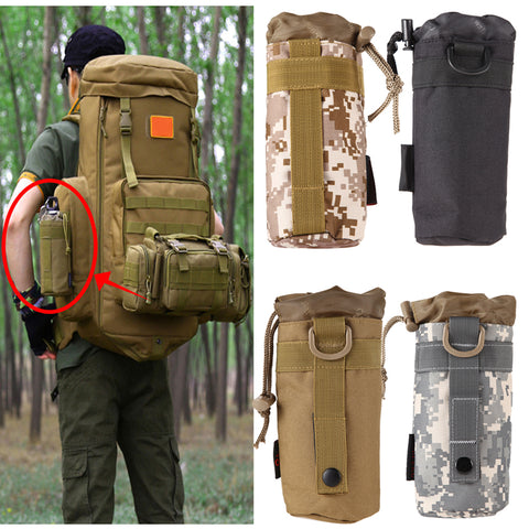 Tactical Military Water Bottle Bag Nylon Pouch