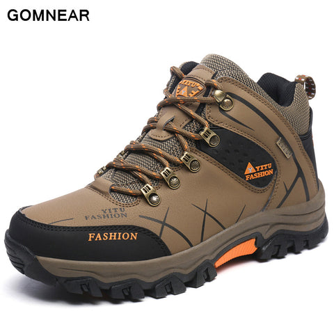 GOMNEAR Boots Outdoor Waterproof