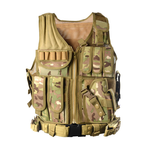 Tactical Vest Camouflage Military Body Armour