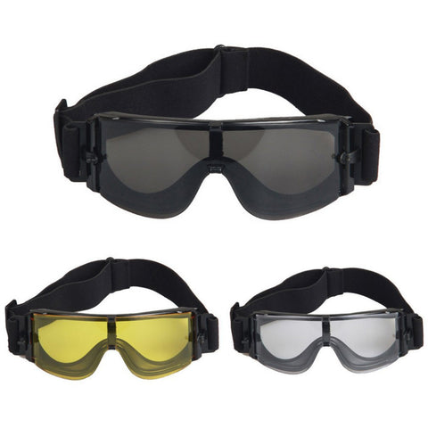 Military Goggles Tactical Glasses With 3 Colors Lens