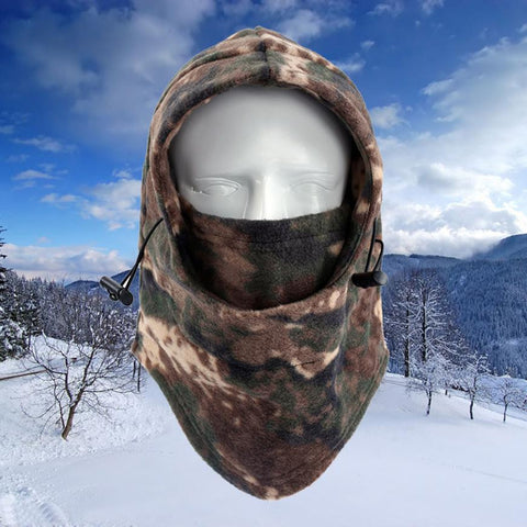 Camo Winter Neck Mask Thermal