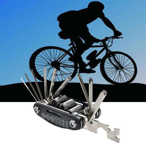 16 in 1 Multi-function Cycle Bike Repair Tool Kit