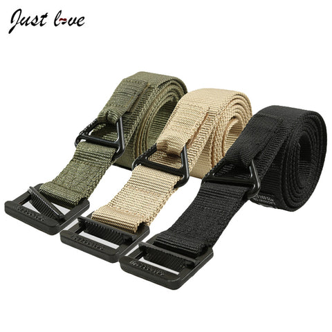 Military Equipment Tactical Belt Mens Adjustable