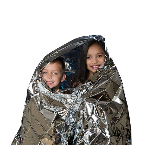 Emergency Survival Thermal Blankets Clothing (Pack of 10)