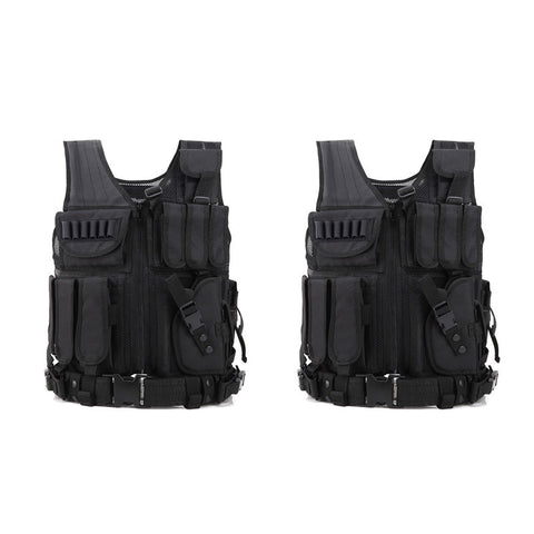 Military Style Tactical vest X 2 pack