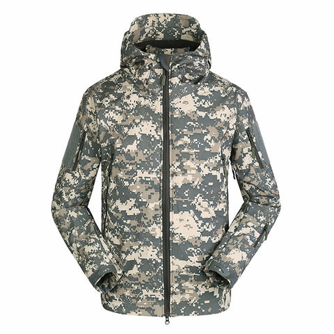 Military Tactical Mens Windbreaker Jacket