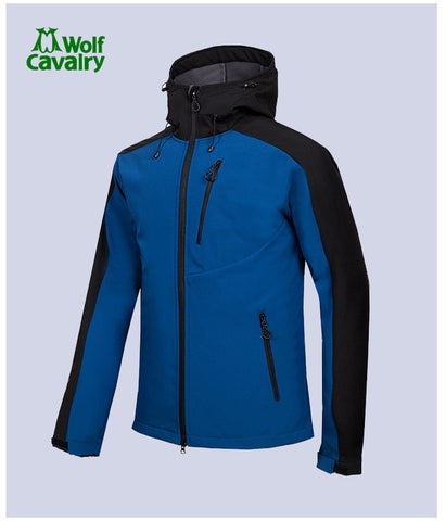 Men's Winter Softshell Fleece Jacket Outdoor
