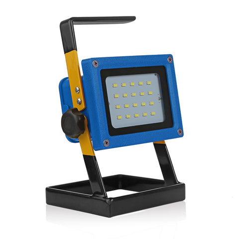 30W LED Project Lamp Flood Light with UK Plug Rechargeable