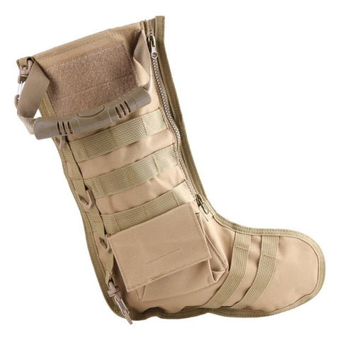 Tactical Christmas Military Style Stocking