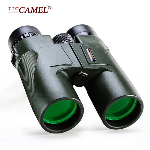 US Military HD 10x42 Binoculars Professional Zoom Navigation