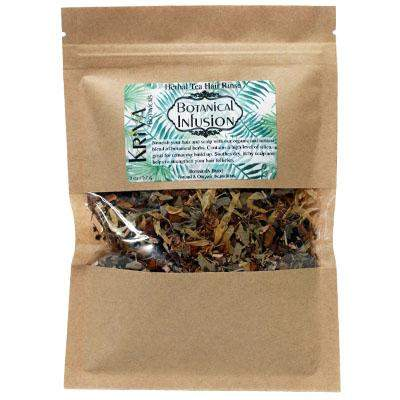Botanical Infusion Herbal Tea Hair Rinse - Kriya Botanicals