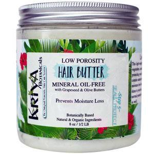 Low Porosity Hair Butter - Kriya Botanicals