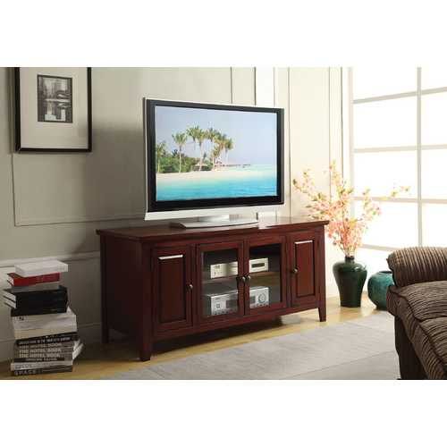 Christella TV Stand, Cherry