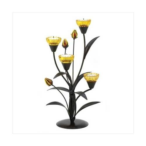 Tiger Lily Tealight Holder (pack of 1 EA)