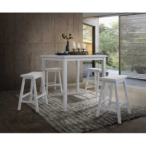 Gaucho 5 Piece Pack Counter Set in White
