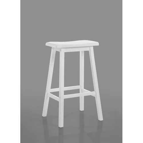 "Gaucho 29"" Bar Stool in White"