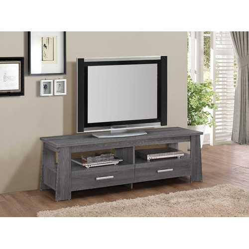 Falan TV Stand, Dark Gray Oak