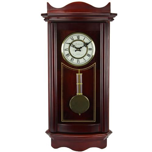Bedford Clock Collection Weathered Cherry Wood 25