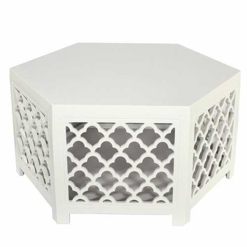 Hexagonal Urban Vogue Cocktail Table