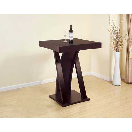 Elegant Bar Table With Table Top Features.