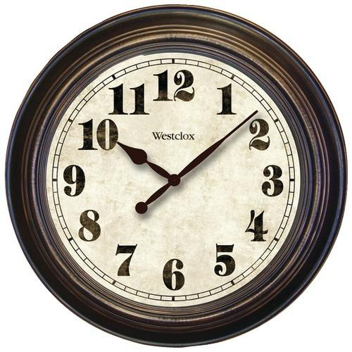 "Westclox 24"" Round Oversized Classic Clock (pack of 1 Ea)"