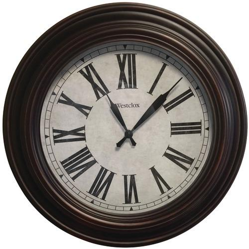 "Westclox 20"" Round Roman Numeral Wall Clock (pack of 1 Ea)"