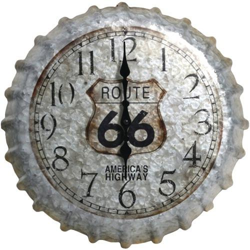 "Springfield 22"" Oversized Heirloom Clock (bottle Cap) (pack of 1 Ea)"