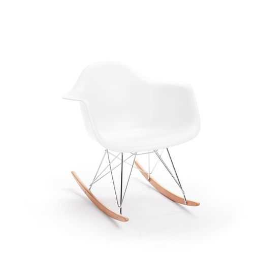 Rocking Arm Chair White