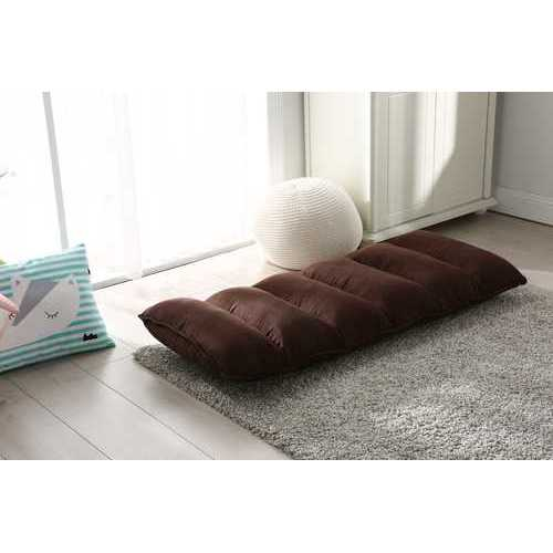 Tyson Modern Adjustable Brown Fabric Gaming Chaise Lounge Chair