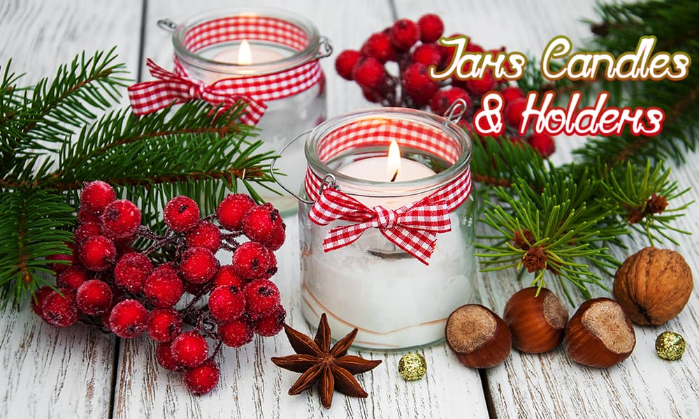 Jars Candles & Holders